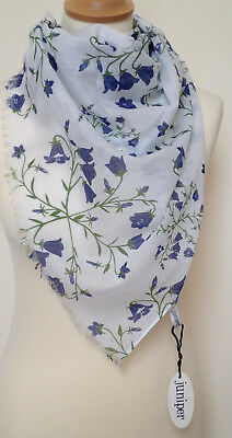 Harebells Print Scarf In Cotton By Juniper