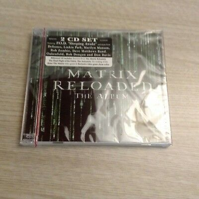 Matrix Reloaded: The Album [Clean] [Edited] by Original Soundtrack (CD, May-2003