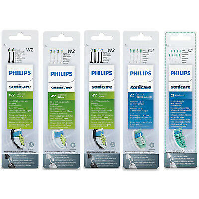 Philips Sonicare Optimal White or Plaque and Pro result brush heads