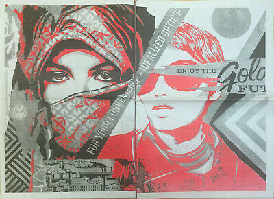 Shepard Fairey (OBEY) - Damaged Times - 2017