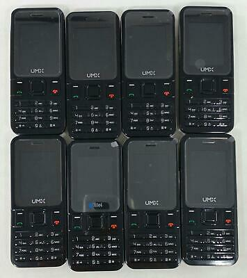 UMX MXW1 BLACK (Budget Mobile) Android Cellular Smart Phone - $24 00