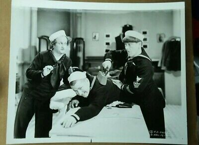 Three Stooges Original Photograph Official 419 Three Little Sew And Sews 1939