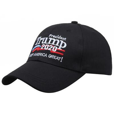 Donald Trump 2020 Keep Make America Great Cap President Election Hat Black New U