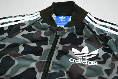 ADIDAS ORIGINALS TRAININGS Jacke Sport Jacket Track Top Retro Camouflage SST XS