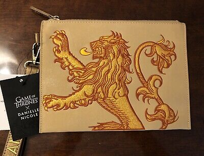 Game of Thrones House Lannister x  DANIELLE NICOLE Wristlet/Bag, NWT