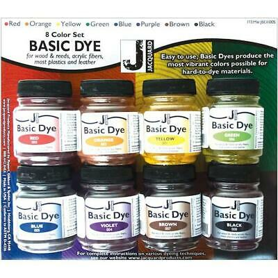 Jacquard Basic Dye 8pcs Set 14.17g (½ oz)