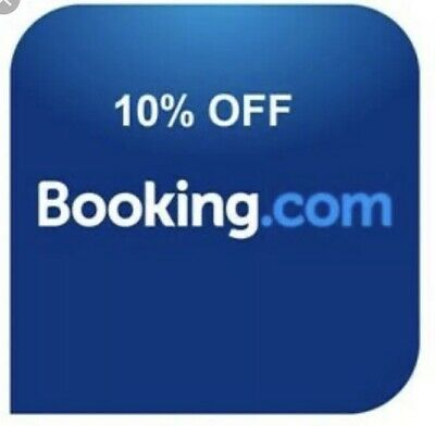 BOOKING.COM 10% off discount voucher code SAVE