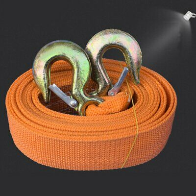 8 TONNE 8T 6M Tow Towing Pull Rope Strap Road Recovery with Two Shackles