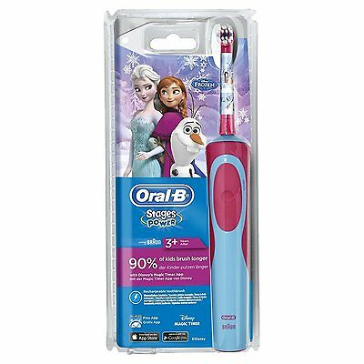 """Braun Oral-B Tooth-Brush: Battery Toothbrush + Toothpaste ("""" Frozen """")"""