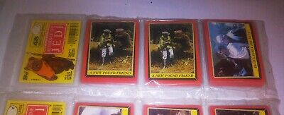 Star Wars Return Of The Jedi Trading Card Rack Wax Pack Factory Sealed 1983