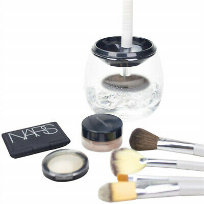 Aurora Collections Electric Makeup Brush Cosmetic Dryer Cleaner Set