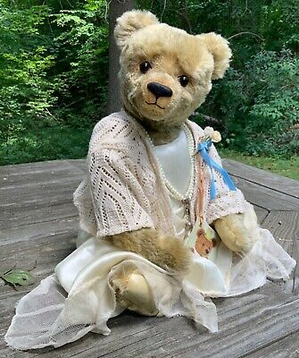 """Michelle Doig ~Padfield Bears """"Sweet Beatrice"""" One-Of-A-Kind Mohair Artist Bear"""