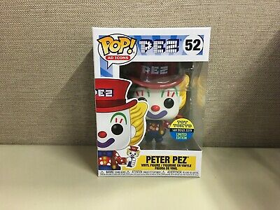 Funko Pop! Ad Icons: Toy Tokyo SDCC 2019 Exclusive Peter Pez #52 New In Box