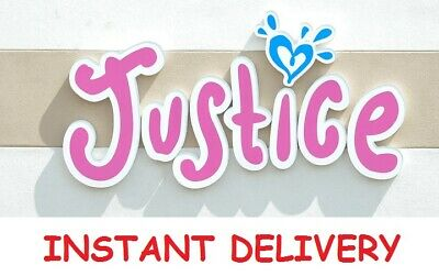 THREE (3) Justice Coupon 15% Off Entire Purchase **INSTANT DELIVERY**