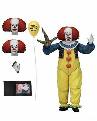 "IT (1990) - 7"" Scale Action Figure - Ultimate Pennywise v.2 - NECA"