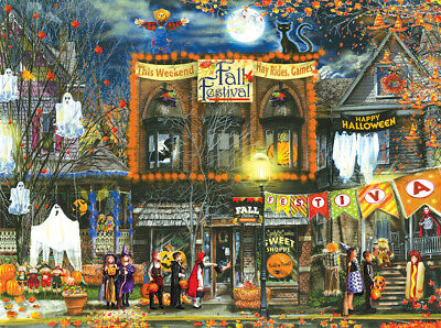 Sunsout Fall Festival Jigsaw Puzzle
