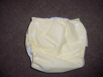 Knicker Nappies cloth diaper side snap New yellow size medium