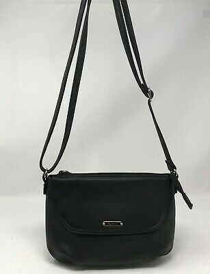 KOLTOV Black Crossbody Adjustable Strap Small Purse Bag