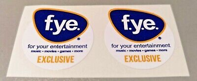 Funko POP! - Replacement Sticker - FYE (old) Exclusive (sold individually)