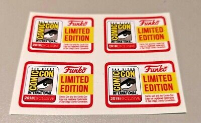 Funko POP! - Replacement Sticker - 2018 SDCC Limited Edition (sold individually)