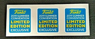 Funko POP! - Replacement Sticker - 2019 Summer Convention (sold individually)