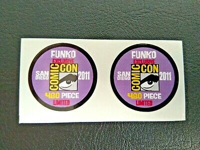 Funko POP! - Replacement Sticker - 2011 SDCC Ltd Edition 480 pcs. (sold indiv.)