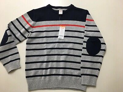 Boys Gymboree Sweater Size L 10/12 Long Sleeve 100% Cotton New with Tag