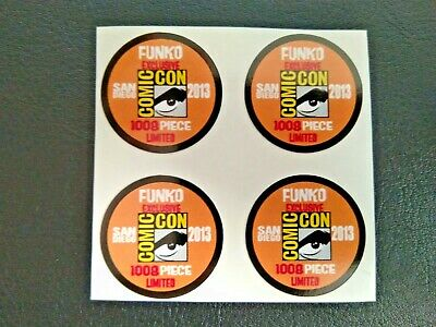 Funko POP! - Replacement Sticker - 2013 SDCC Ltd Edition 1008 pcs. (lt. orange)
