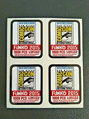 Funko POP! - Replacement Sticker - 2015 SDCC Ltd Edition 1008 pcs. (sold indiv.)