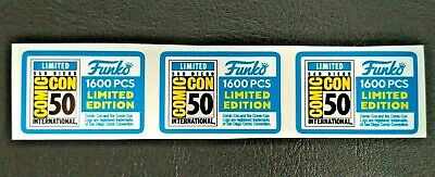 Funko POP! - Replacement Sticker - 2019 SDCC Ltd Edition 1600 pcs. (sold indiv.)