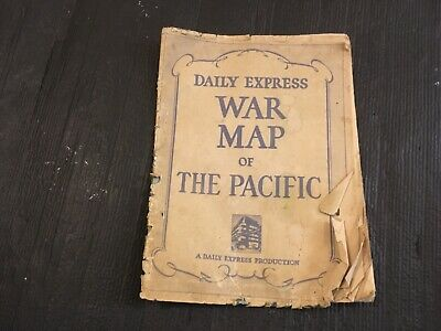 daily express war map of pacific 1941