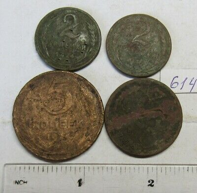 Old dug up coins. #614