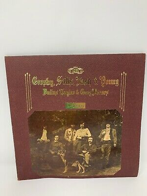 CROSBY STILLS NASH  and  NEIL YOUNG LP Deja Vu 1970  Atlantic Vinyl Music Nice