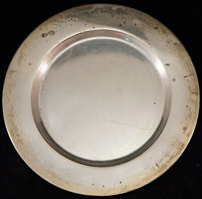 Sterling Silver Plate C3124 6 Inch 90.3 grams Scrap or Not