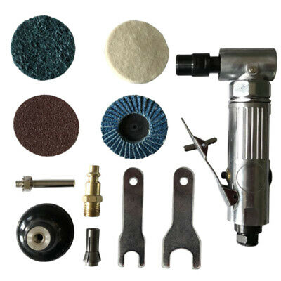 1/4 inch Air Angle Die Grinder 90 Degree Pneumatic Grinding Machine Cut Off Po