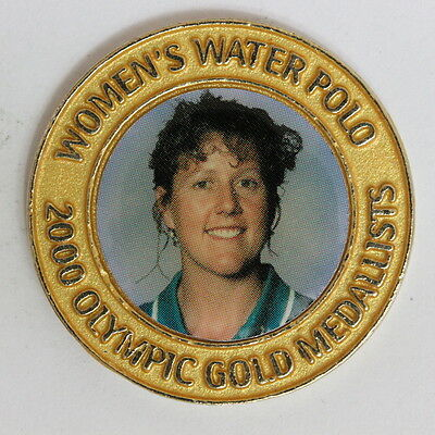 Women's Water Polo Australia Sydney 2000 Olympic Team Medal Unc (Uca15/6)