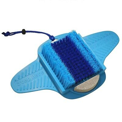 Fresh Feet- Foot Scrubber With Pumice Stone, Cleans, Smooths, Exfoliates An