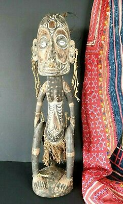 Old Papua New Guinea Sepik River Carved Ancestral Figure …beautiful collection a
