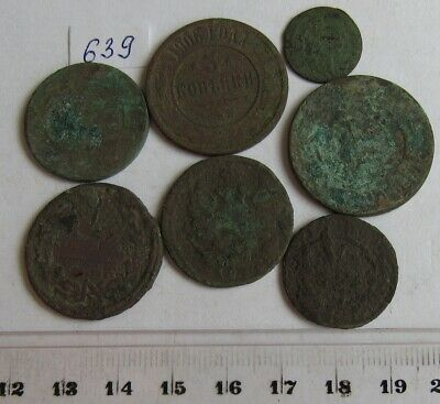 Old dug up coins. #639