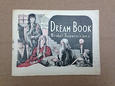"Vtg Dr. Pierce's Medicines early 1900's""Dream Book Bridal Superstitions""pamphlet"