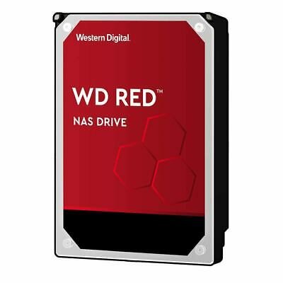"6TB WD Red 3.5"" SATA Internal NAS Hard Drive HDD 5400RPM 256MB Western Digital"