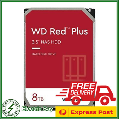 "8TB WD Red NAS HDD 3.5"" SATA Internal Desktop Hard Drive 5400RPM Western Digital"