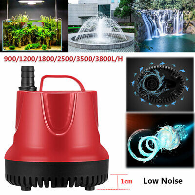 220-240V Submersible Water Pump Aquarium Fish Fountain Marine Tank Pond