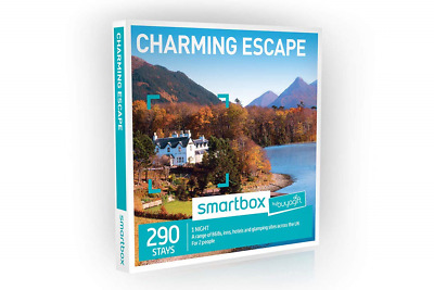 Buyagift One Night Charming Escape Experience Gift Box - 290 overnight stays for