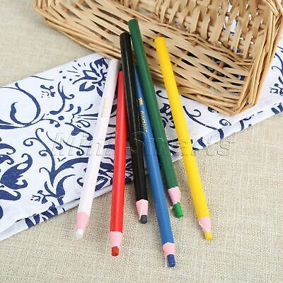 Sewing Accessories Marking Pencil Cutting 6 Color 1/6Pcs Free Tailors Convenient
