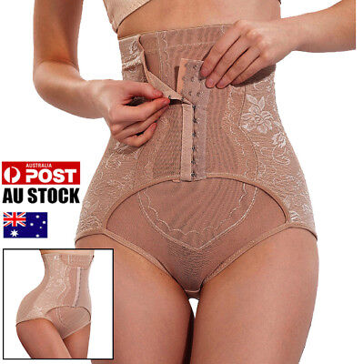 AU Tummy Control High Waist Panties Butt Lifter Women Shorts Body Shaper Girdle