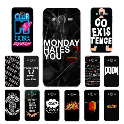 Soft Case For Samsung Galaxy J5 2015 2016 2017 Silicone Gel Phone Back Cover MTV