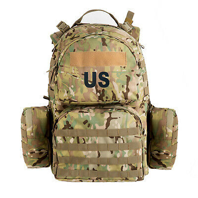 US Military Molle II Medium Rucksack,Modular Lightweight Load-Carrying Multicam
