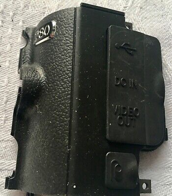 NIKON D80 SIDE COVER REPLACEMENT PART with Port Covers