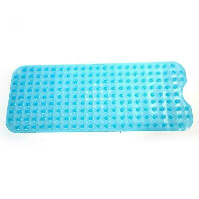 US Blue Extra Long Bath Tub Non Slip Safety AntiSkid Shower Protection Mat